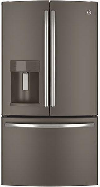 Ge Slate French Door Refrigerator Refrigerators Compare Prices