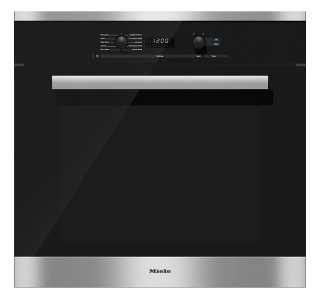 """Miele 30"""" PureLine Stainless Steel Convection Wall Oven"""