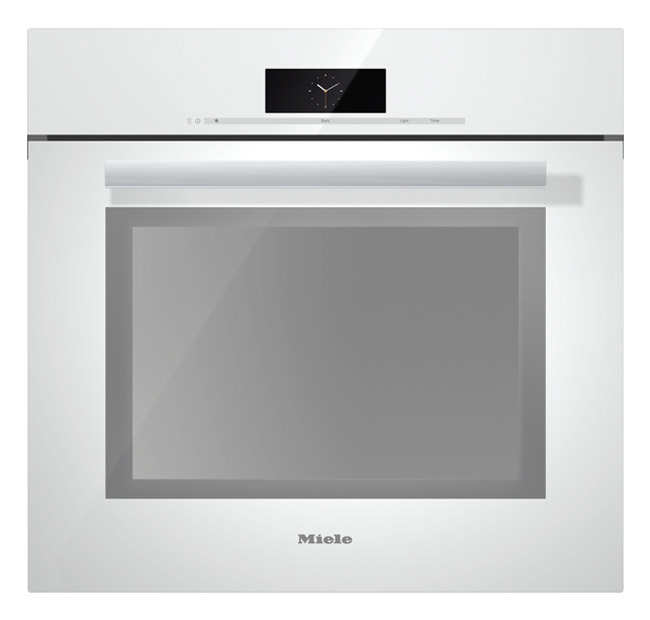"""Miele 30"""" PureLine Brilliant White Convection Wall Oven"""