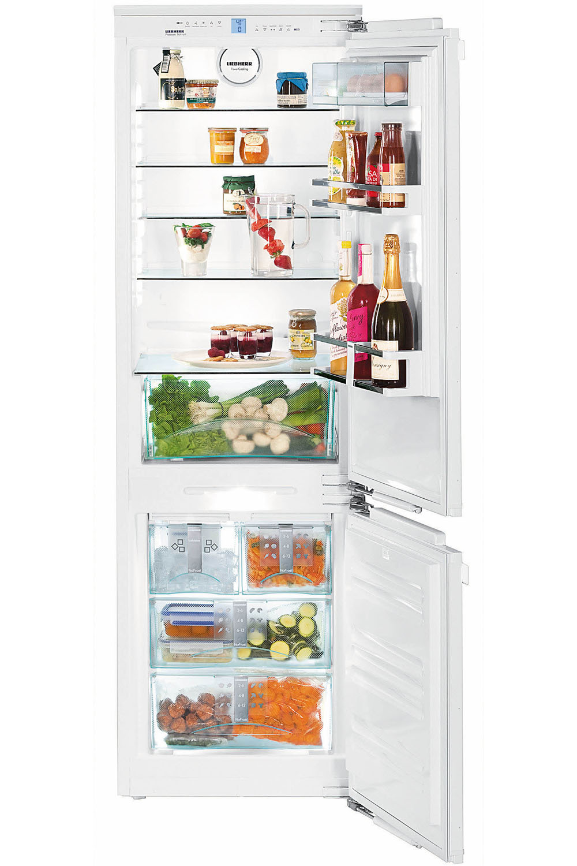 Liebherr White Bottom Freezer Refrigerator