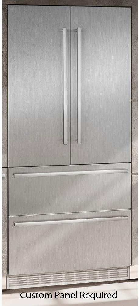 liebherr 36 built in panel ready french door refrigerator hc 2082. Black Bedroom Furniture Sets. Home Design Ideas