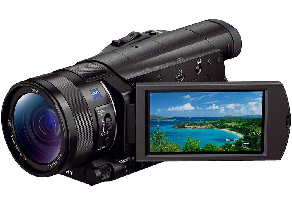 Sony Black HD Camcorder With Sensor