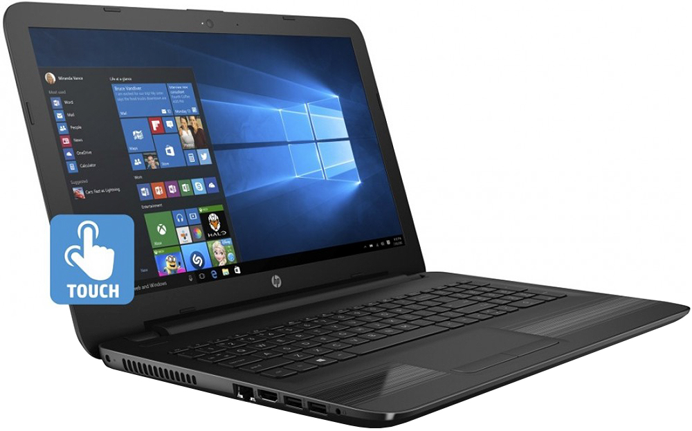 """HP 15.6"""" Intel Core i3 Dual Core Touchscreen Notebook"""