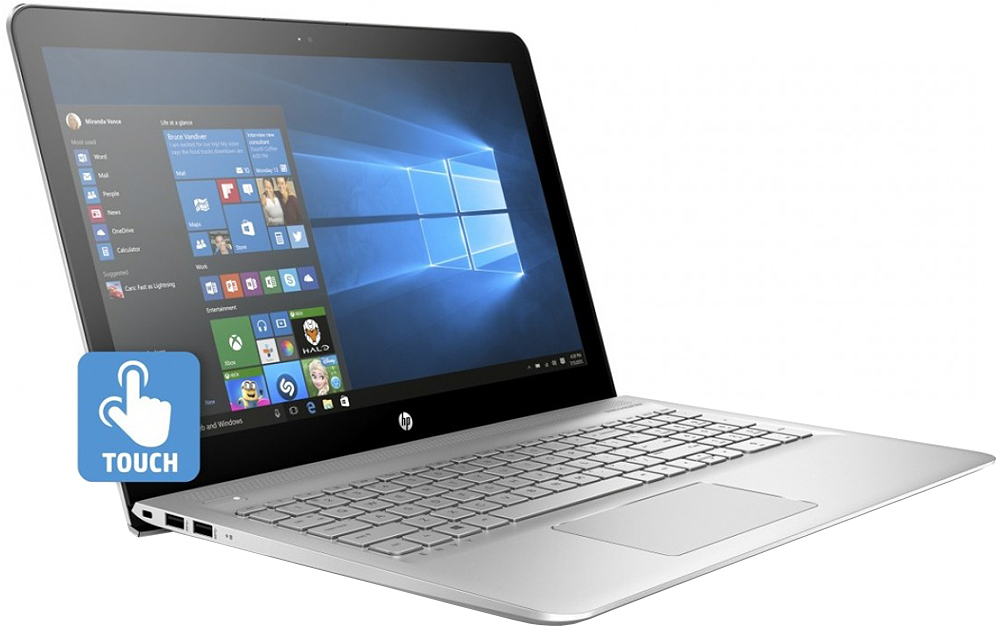 HP Envy Natural Silver Notebook Computer