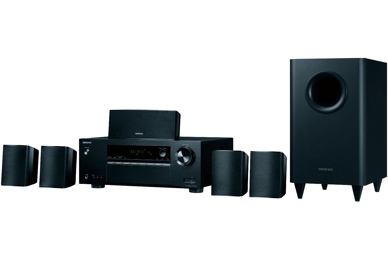 Onkyo Black 5.1 Channel Home Theater System