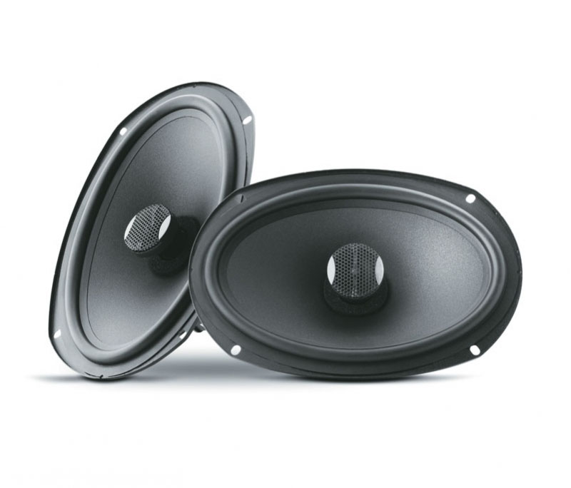 "Focal 6""x9"" 2-Way Coaxial Car Speakers"