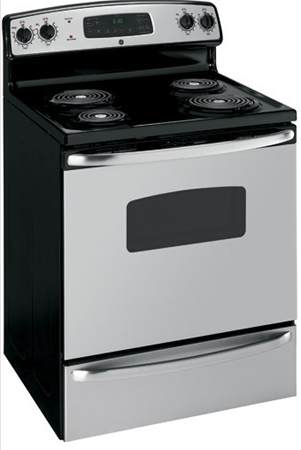 GE Free Standing Stainless Electric Range