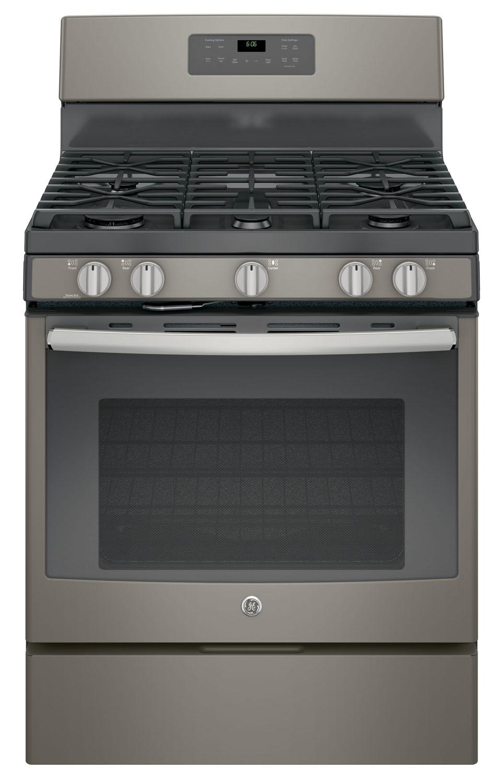 """Ge Appliance Warranty >> GE 30"""" Slate Free-Standing Gas Range - JGB660EEJES"""