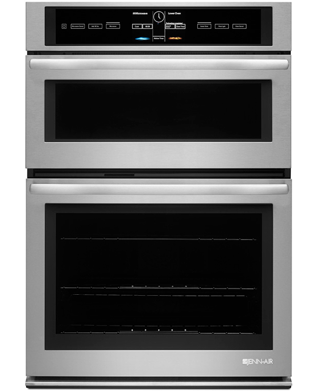 Jenn Air 30 Quot Stainless Combination Wall Oven Jmw3430ds