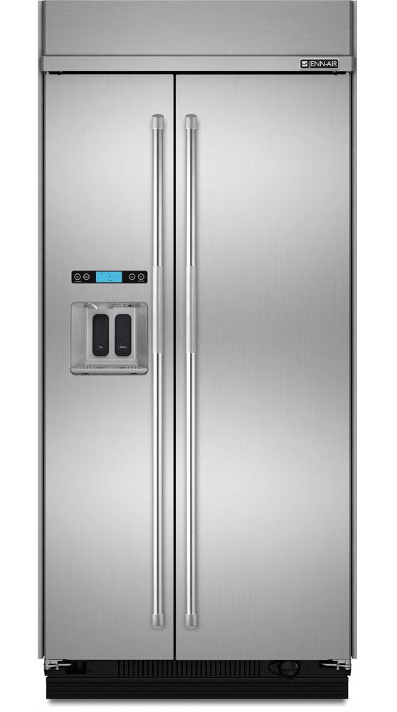 jenn air built in side by side refrigerator js42ppdude. Black Bedroom Furniture Sets. Home Design Ideas