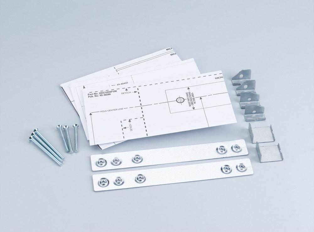 ge undercabinet mounting kit jxa019k