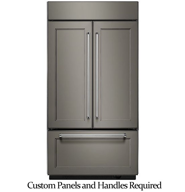 Kitchenaid 42 Quot Built In French Refrigerator Kbfn502epa