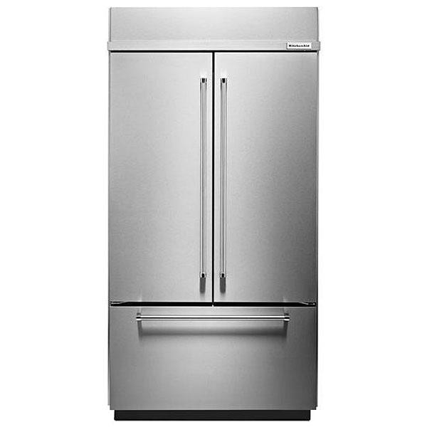 Kitchenaid Built In French Door Refrigerator Kbfn502ess