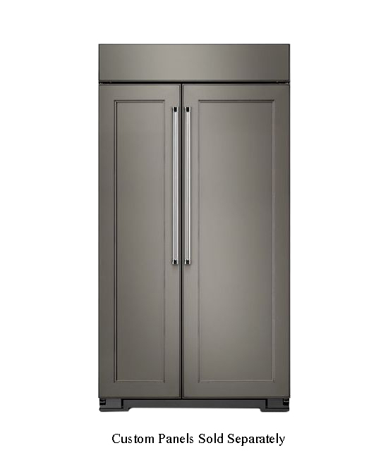 KitchenAid 30 Cu. Ft. Panel Ready Built-In Side-By-Side R...