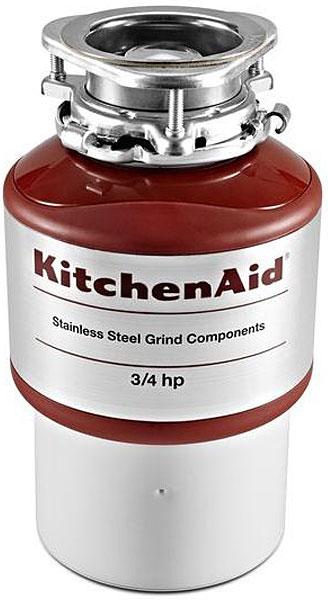 KitchenAid Red Garbage Disposal