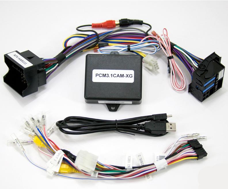 NAV-TV PCM3.1 XG-CAM Rear Camera Kit