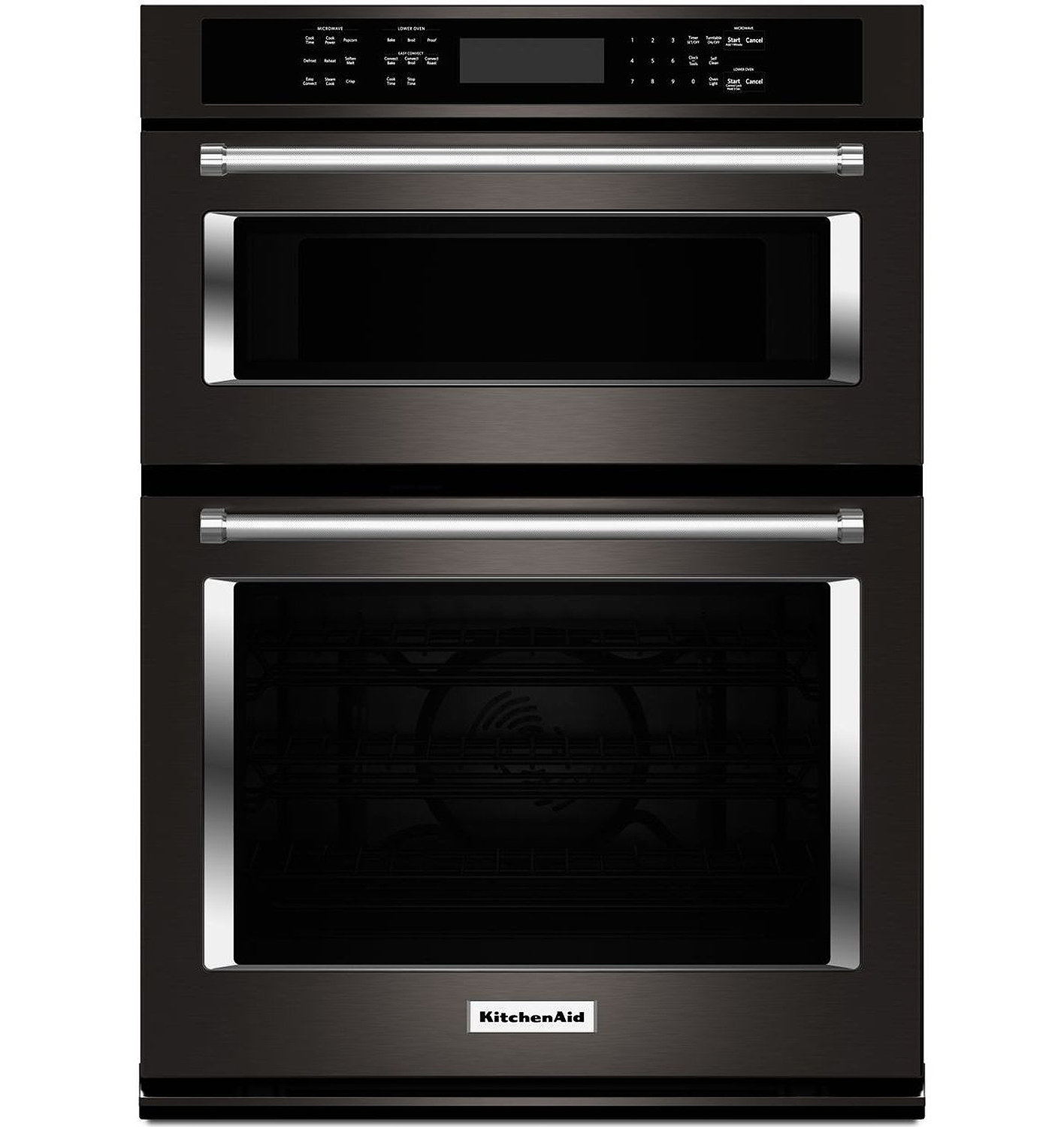 Kitchenaid 30 Quot Black Stainless Wall Oven Koce500ebs