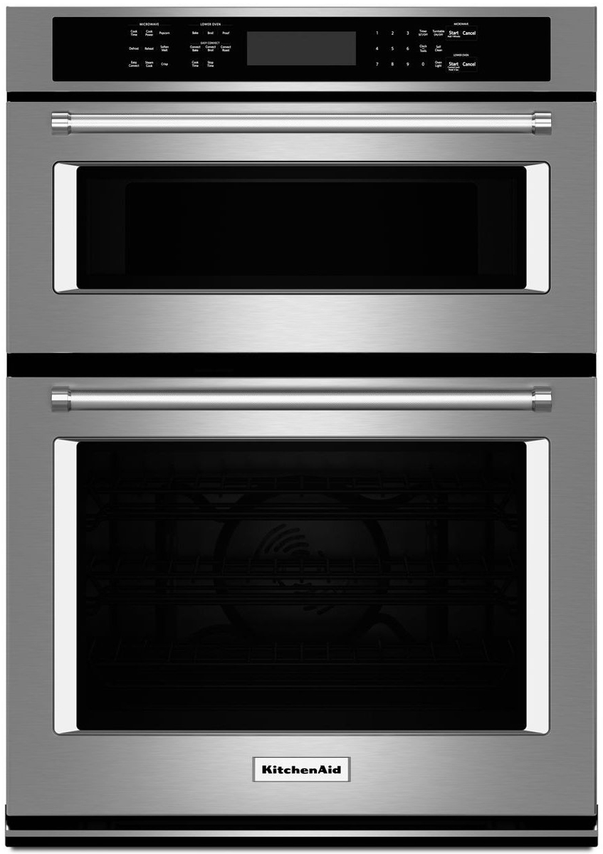 Kitchenaid 27 Quot Stainless Combination Oven Koce507ess
