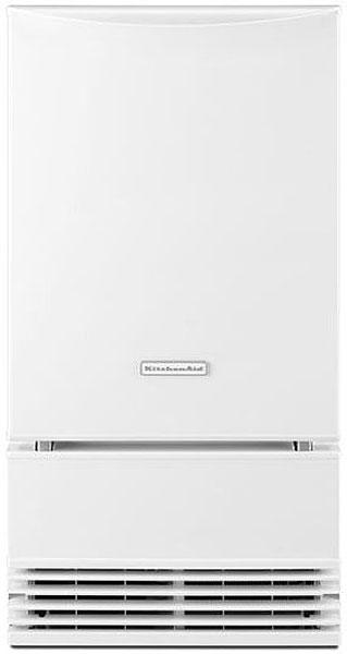 "KitchenAid 18"" White Automatic Ice Maker"