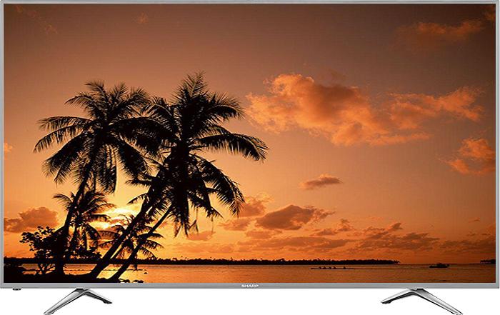 "Sharp AQUOS 65"" Silver 1080P LED Smart HDTV"