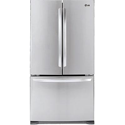 LG 3-Door French Door Stainless Steel Bottom Freezer Refr...
