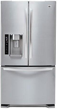 LG Stainless Steel French Door Bottom Freezer Refrigerator