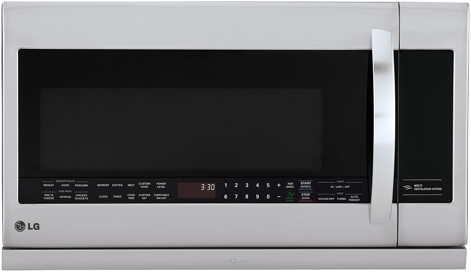 Lg Stainless Over The Range Microwave Oven Lmhm2237st
