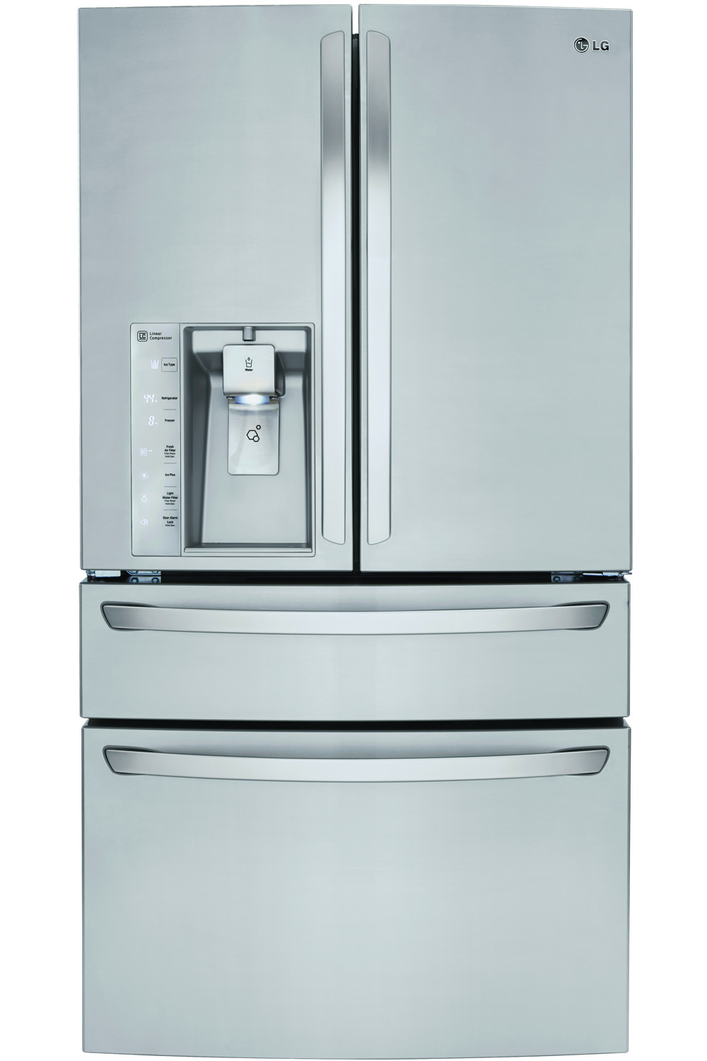 LG Stainless Steel 4-Door French Door Refrigerator