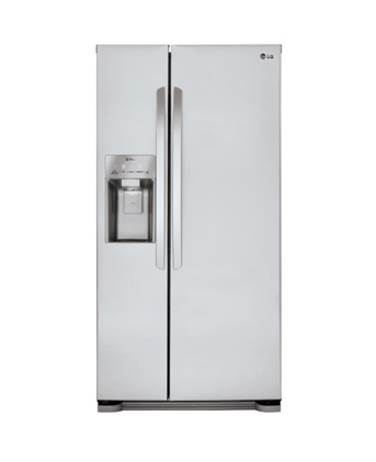 LG Stainless Steel Side-By-Side Refrigerator