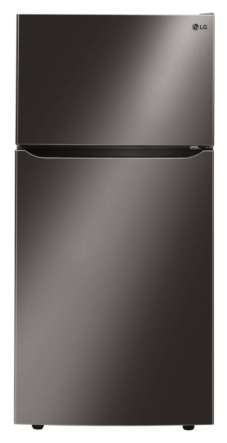 Lg Black Stainless Top Freezer Refrigerator Ltcs24223d