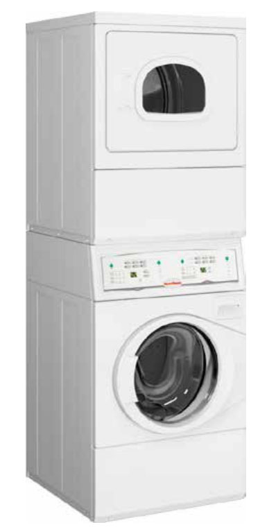 SPEED QUEEN White Commercial Washer And Electric Dryer Combo