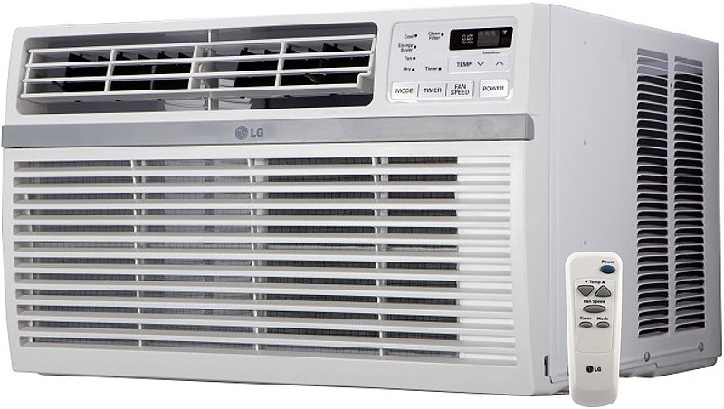 lg 15 000 btu 115v window air conditioner lw1516er. Black Bedroom Furniture Sets. Home Design Ideas