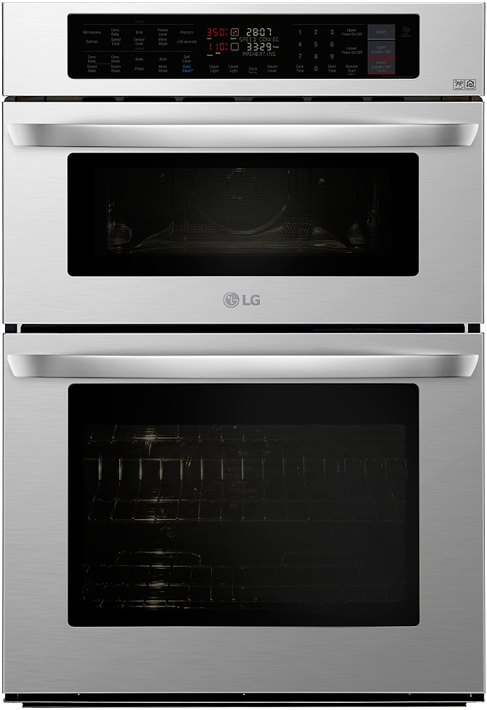 Lg 30 Quot Stainless Microwave Combination Oven Lwc3063st