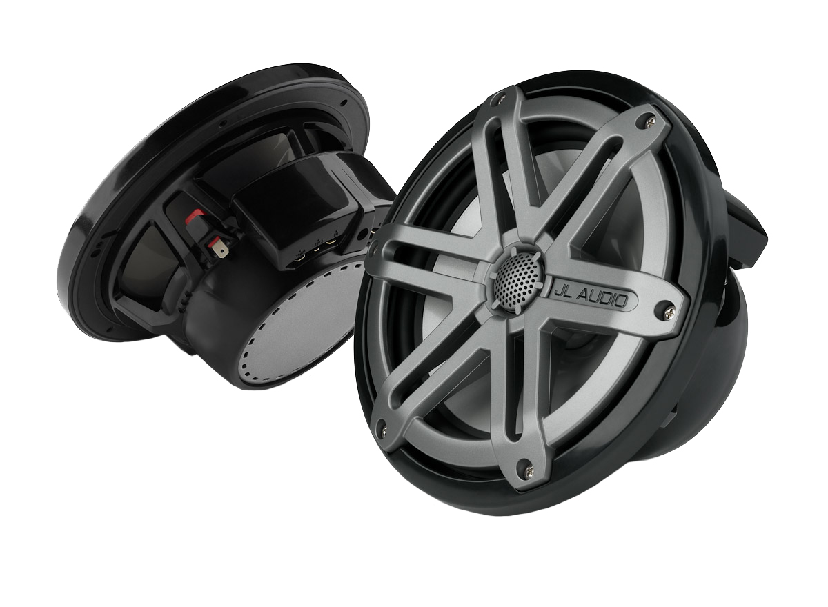 "JL AUDIO Black 7.7"" Marine Tower Coaxial System With Tita..."
