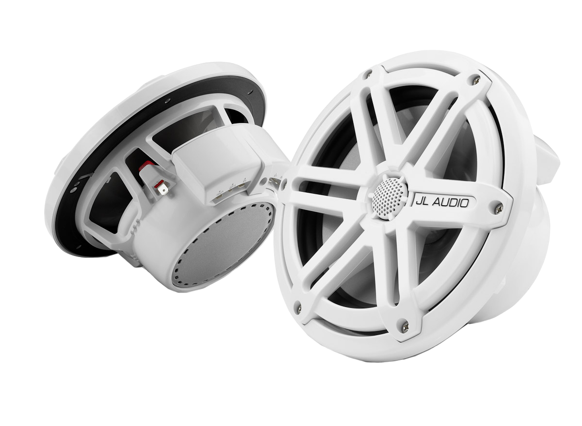 "JL AUDIO White 7.7"" Marine Tower Coaxial System With Spor..."