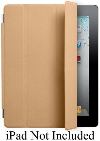 Apple Tan Leather iPad 2 Smart Cover - MC948LL/A