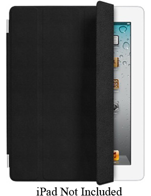Apple Black Leather iPad 2 Smart Cover - MD301LL/A