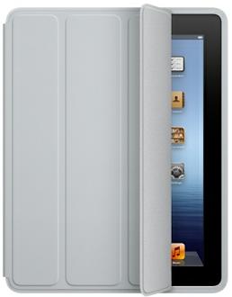 Apple Light Gray Polyurethane iPad 2/3 Smart Case - MD455LLA