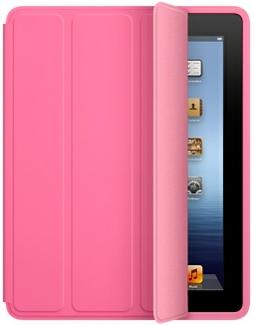 Apple Pink Polyurethane iPad 2/3 Smart Case - MD456LLA
