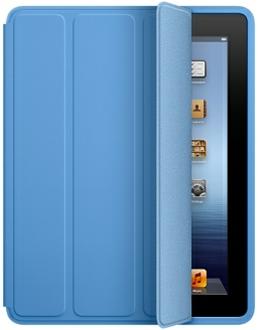 Apple Blue Polyurethane iPad 2/3 Smart Case - MD458LLA