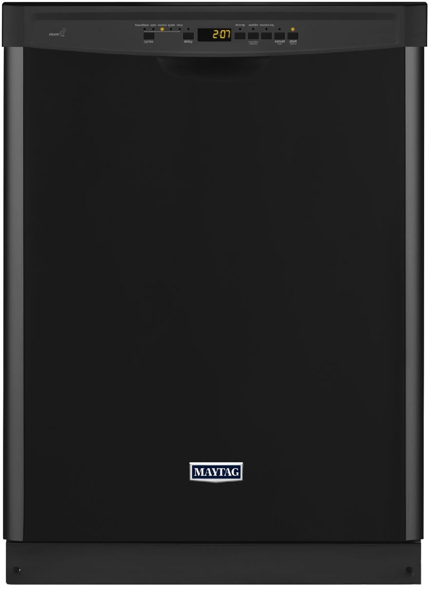 Maytag Black Large Capacity Built-In Dishwasher