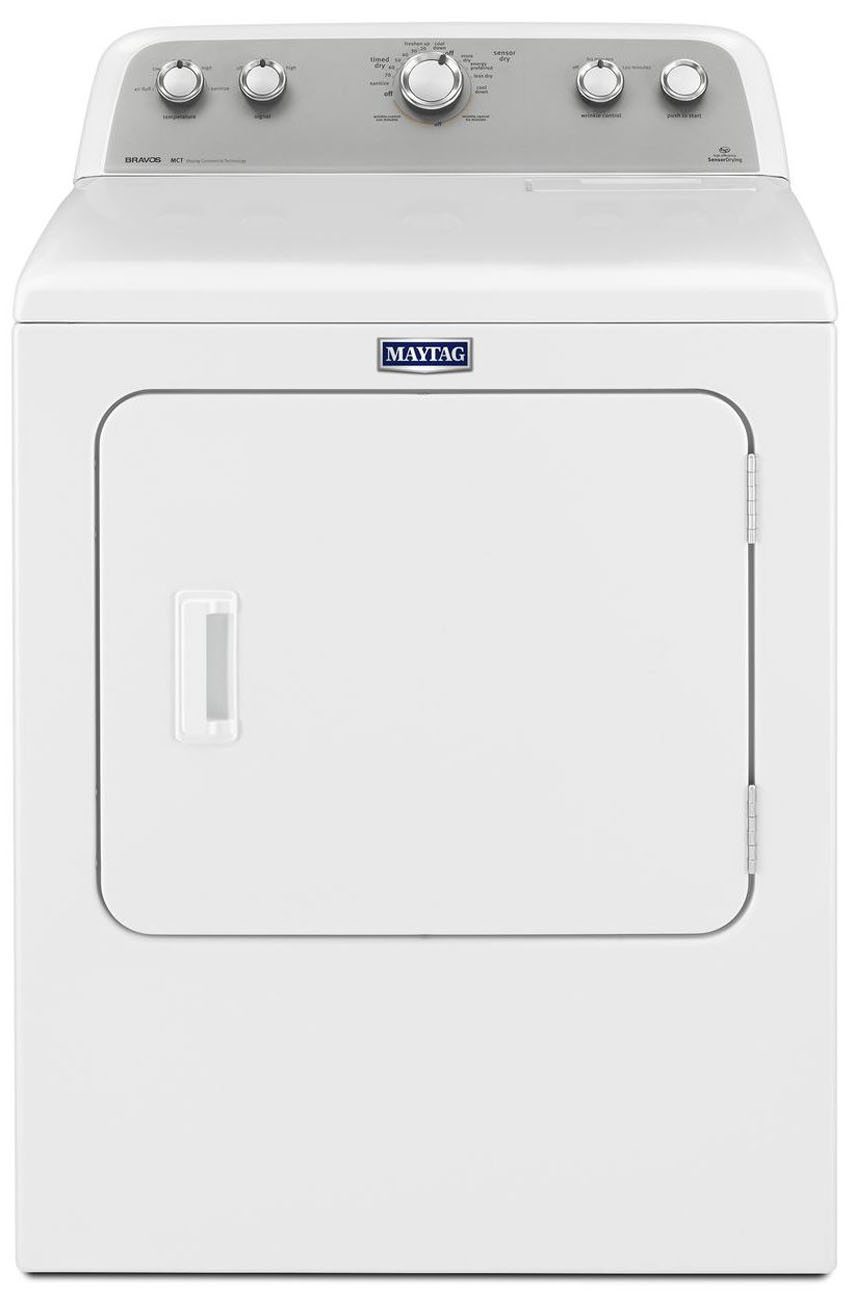 Maytag Heating And Cooling Units : Maytag white bravos electric dryer medx dw