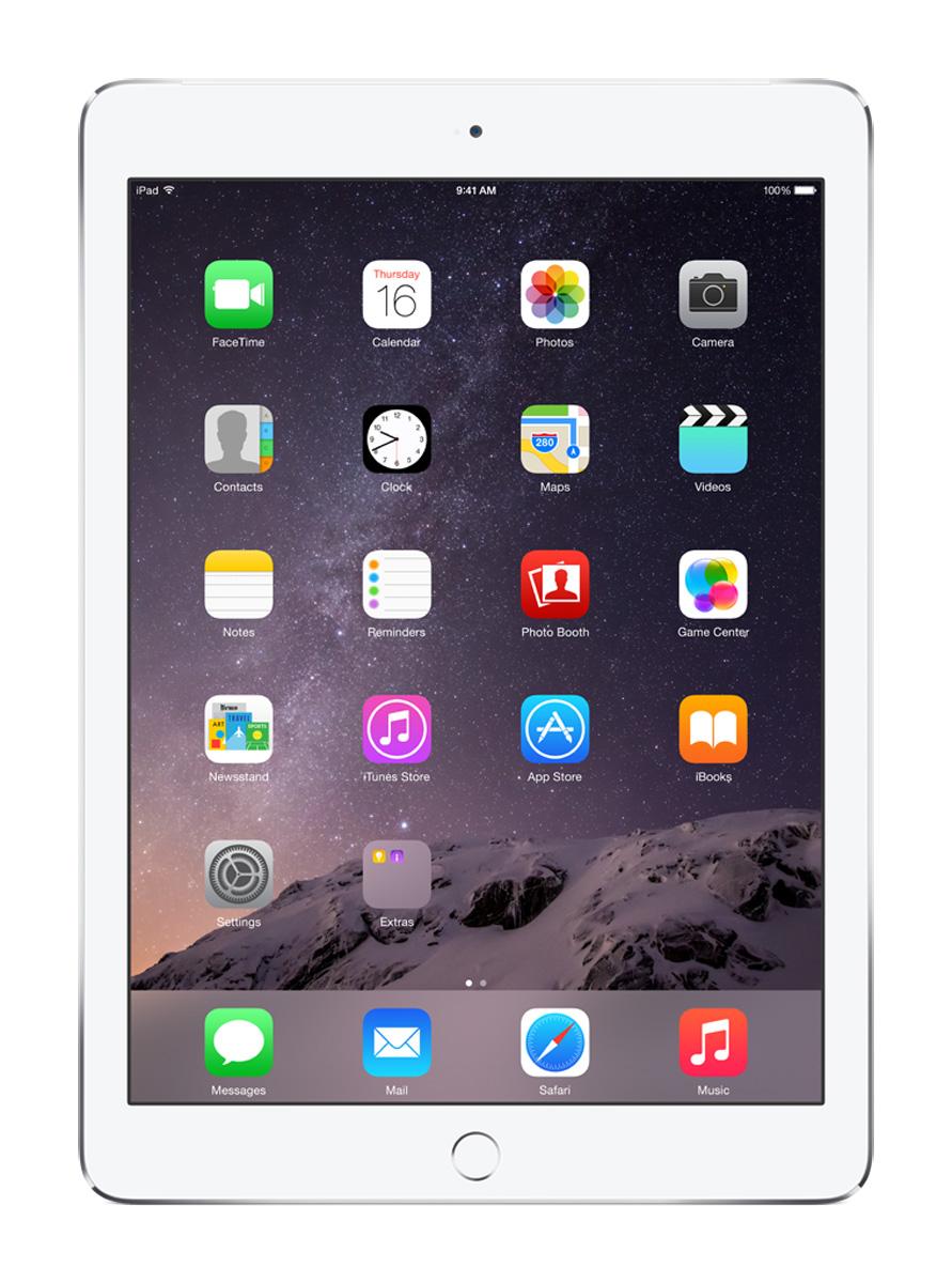 Apple iPad Air 2 9.7 Inch Silver 64GB Wi-Fi + Cellular