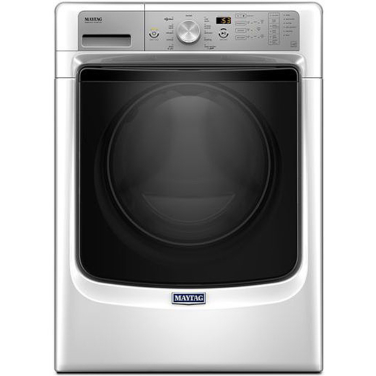 Maytag White Front Load Steam Washer