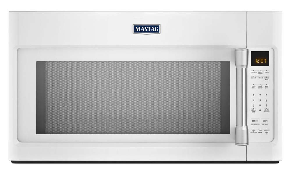 Maytag White Over-The-Range Microwave Oven