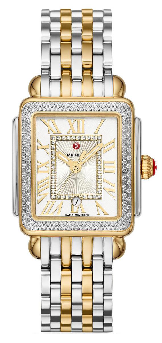 Michele Deco Madison Mid Diamond Womens Watch Mww06g000002