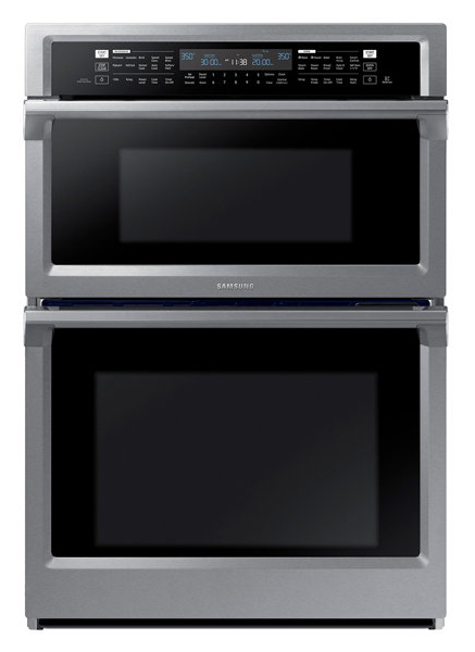 Samsung Combination Microwave Wall Oven Nq70m6650ds