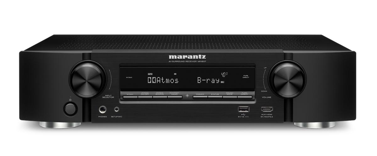 Marantz NR-1607 Dolby Atmos slimline receiver