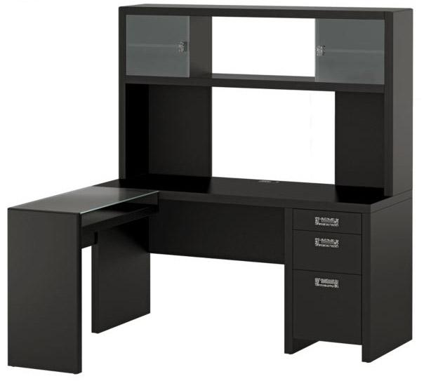 Bush Furniture Office L-Desk in Modern Mocha