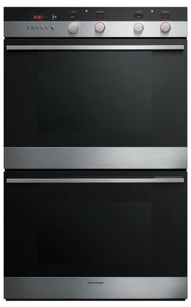 "Fisher & Paykel 30"" Stainless Steel Double Electric Wall ..."